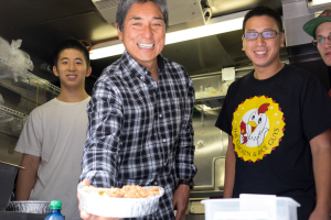 Guy Kawasaki with food
