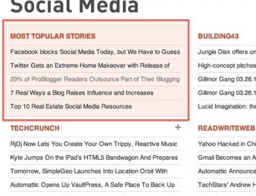 """How to find the """"most topular"""" stories"""