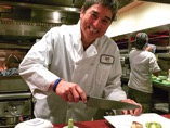 Guy Kawasaki doing his chef thing at Roy's