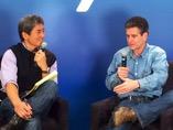 Guy Kawasaki interviewing Dean Kamen at SXSW