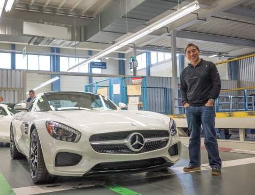 Pictures from my trip to @Mercedes