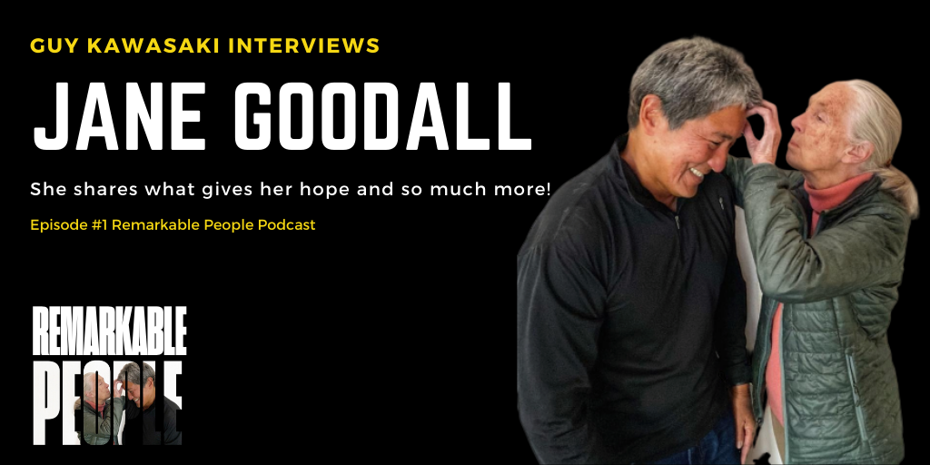 Jane Goodall - Remarkable People Podcast