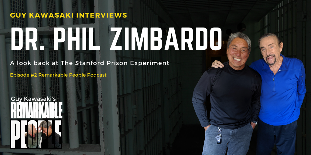 Dr. Phillip Zimbardo - Remarkable People Podcast (1)