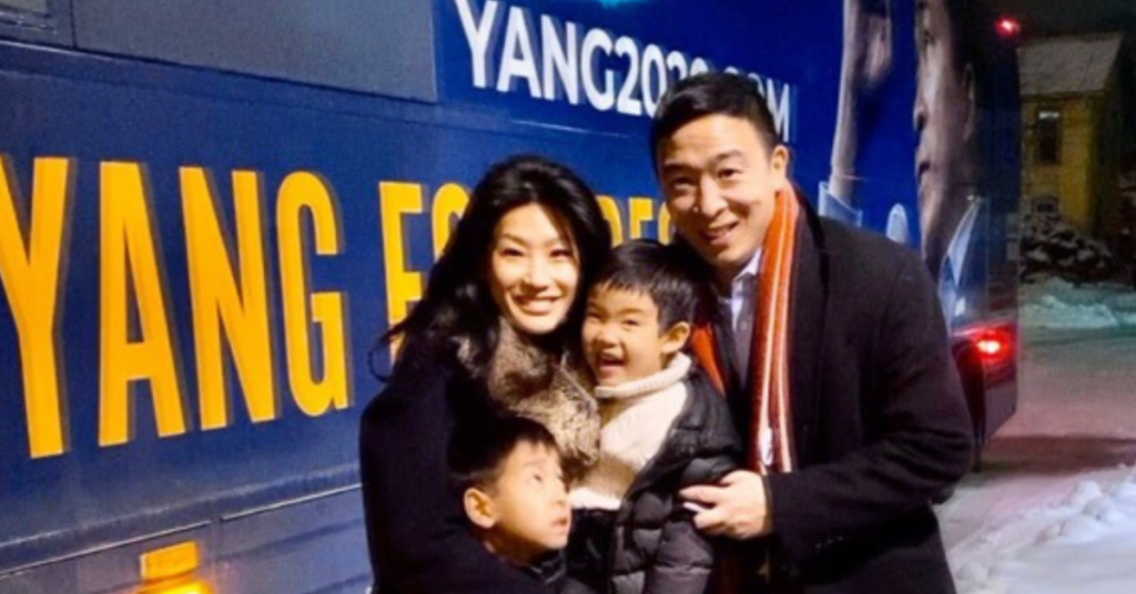Evelyn and Andrew Yang