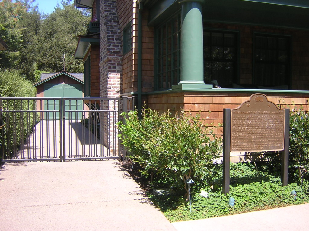 HP Garage is a private museum where the company Hewlett-Packard (HP) was founded.