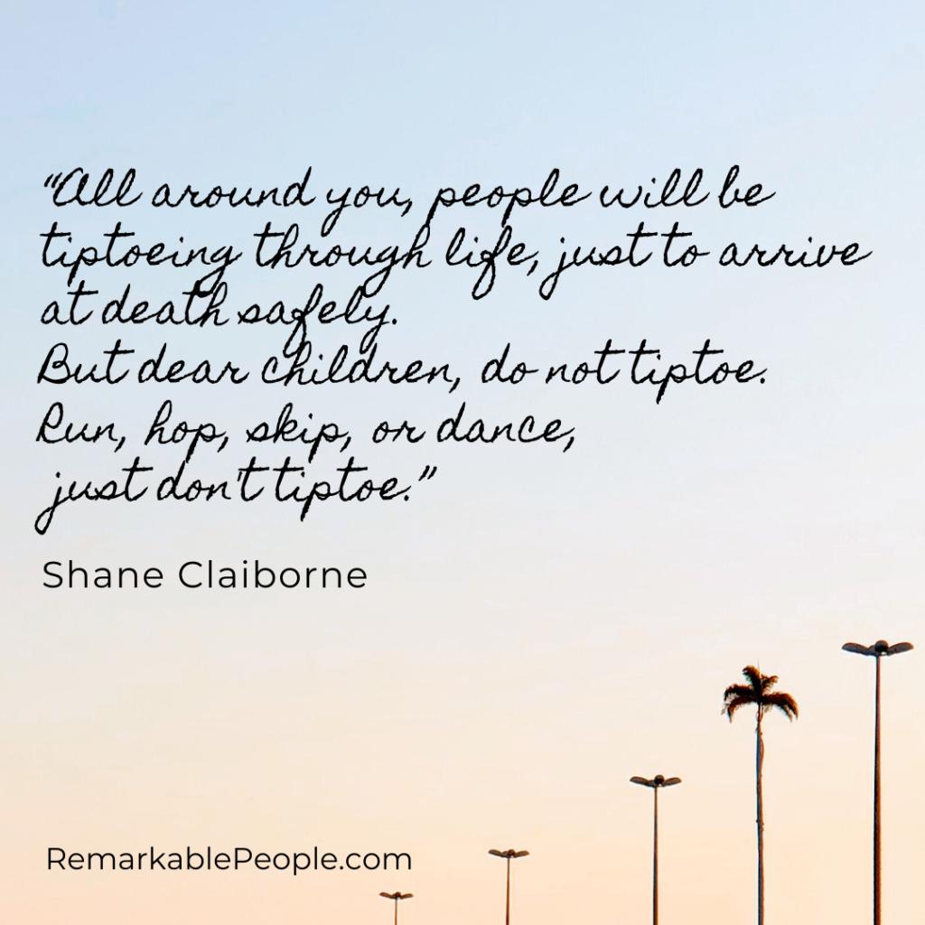 Shane Claiborne > Quotes