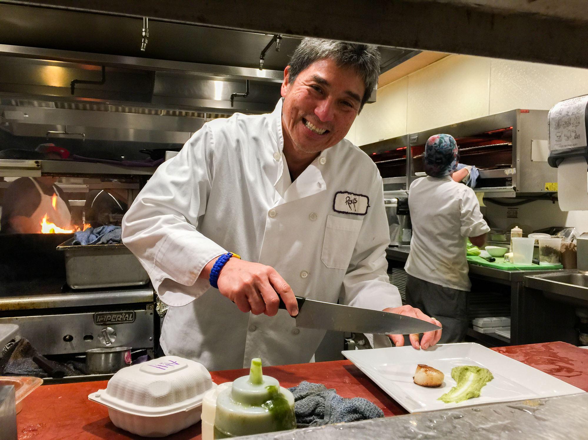 Guy Kawasaki at Roy's Restaurant
