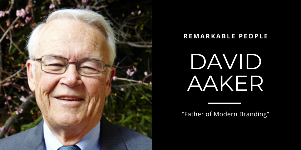 David Aaker on Remarkable People podcast