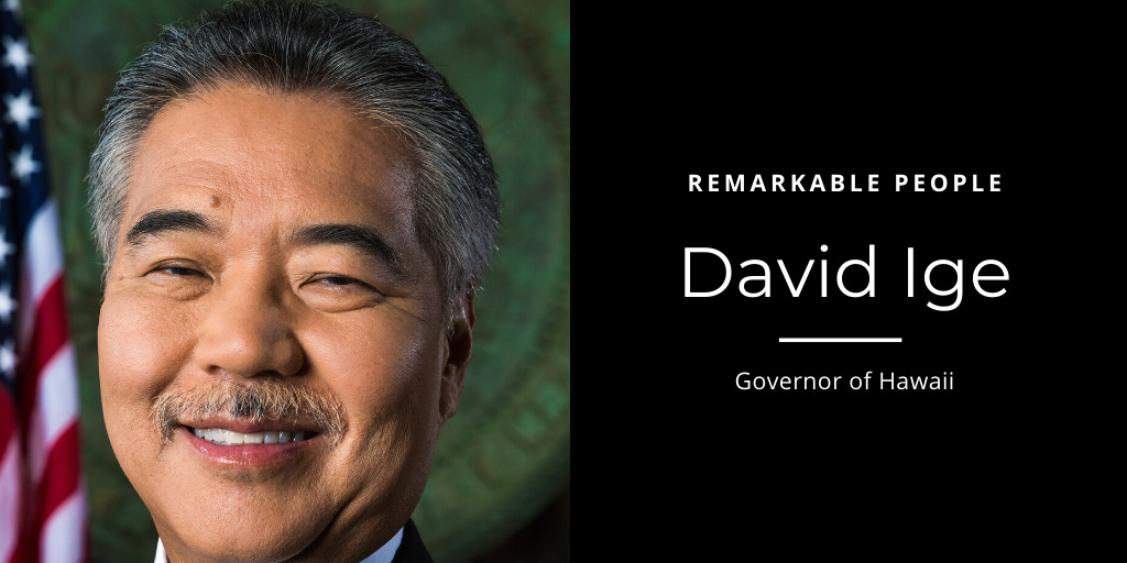 David Ige Remarkable People podcast