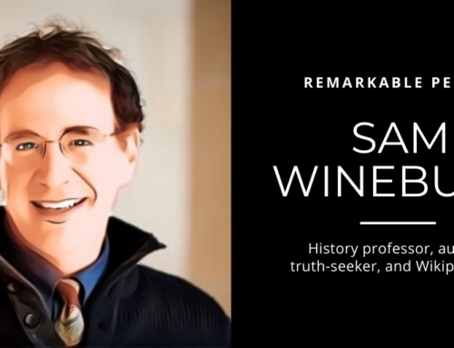 Sam Wineburg: History professor, author, truth-seeker, and Wikipedia fan