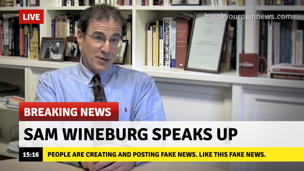 sam wineburg fake news