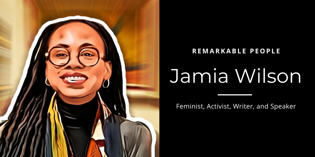 Jamia Wilson Remarkable People podcast