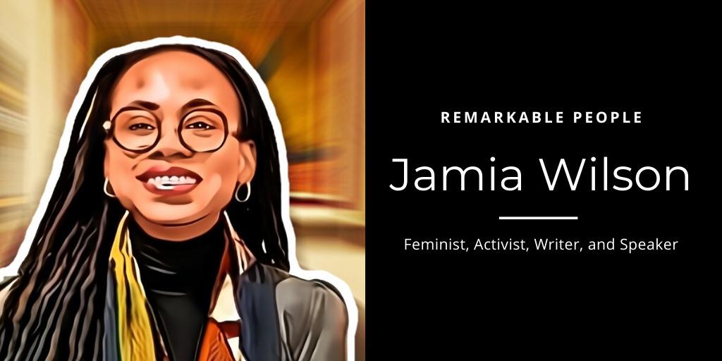 Jamia Wilson Remarkable People podcast