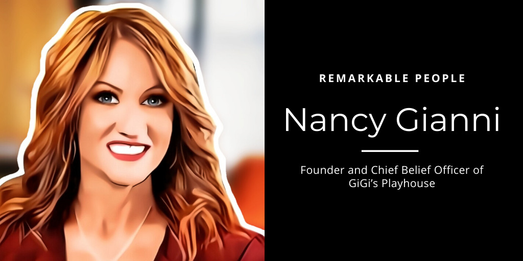 Nancy Gianni Remarkable People podcast