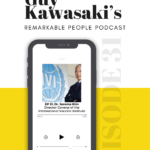 Dr Jerome Kim on Remarkable People podcast