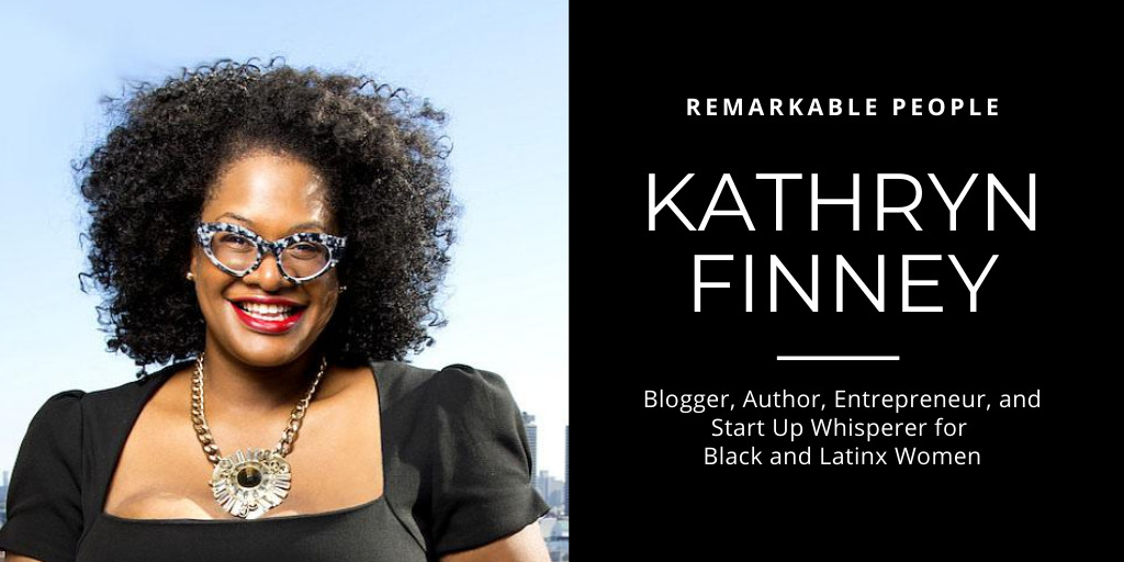 Kathryn FInney on Remarkable People podcast