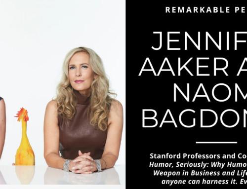Jennifer Aaker and Naomi Bagdonas