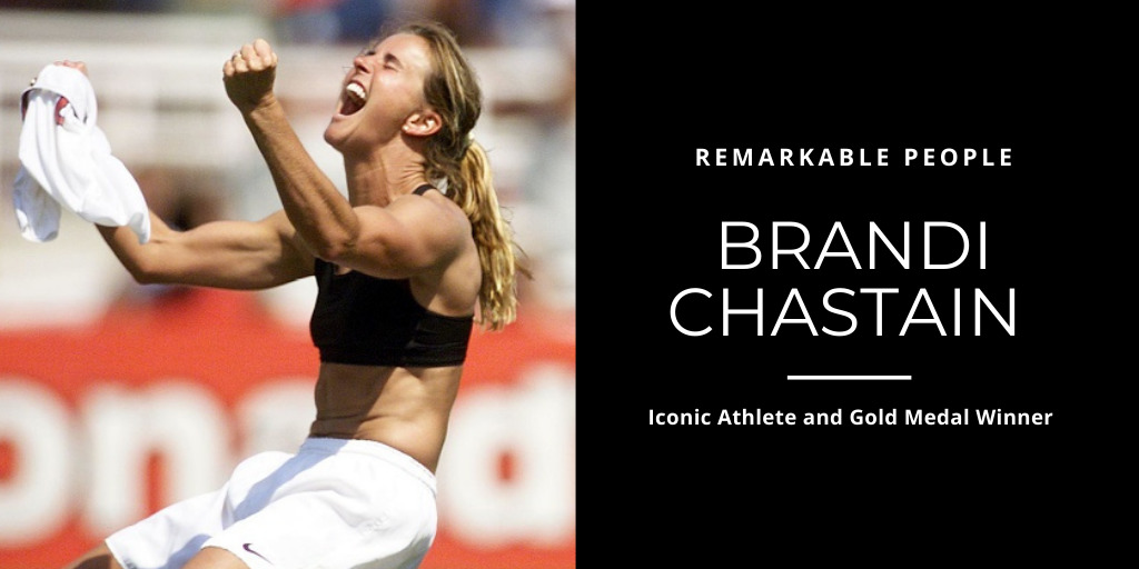 Brandi Chastain: Iconic Athlete and Gold Medal Winner